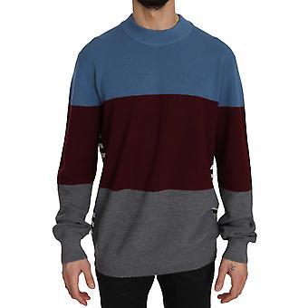 flerfarget crew hals genser genser