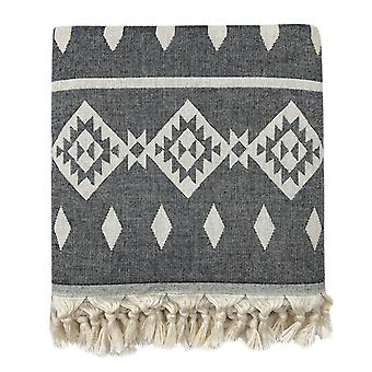 Tribal Mønster Throw Tæppe
