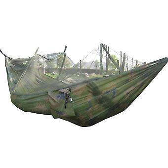 Kannettava hyttysverkko, outdoor garden travel swing laskuvarjo kangas ripustussänky