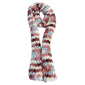 Ivy Mill Crafts UK Hand Made Scarf in Organza Gift Bag - Cherry & Oats