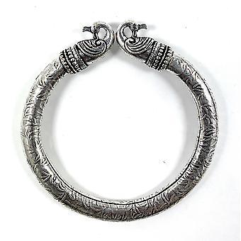 Antike nordische Pfau Kopf Wikinger Armband