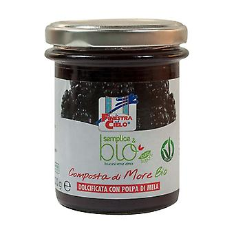 Simple & organic composed of blackberries 220 g