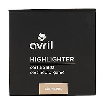 Highlighter Champagne Certifierad ekologisk 11 g pulver