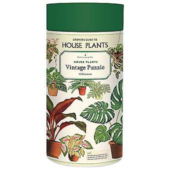 Cavallini House Plants Puzzle 1000 Pièce