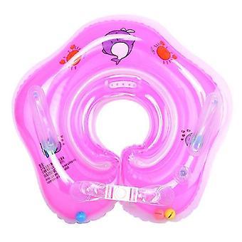 السباحة الطفل الرقبة حلقة أنبوب سلامة الرضع تعويم دائرة للاستحمام