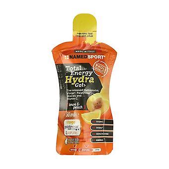 Total energy hydra gel 50 ml of gel (Lemon - Peach)