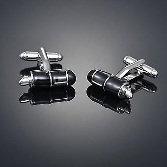 New Luxury Cufflinks High-grade Safety Extinguisher Hammer Alarm Clock