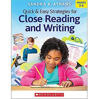 Quick & Easy Strategies for Close Reading and Writing
