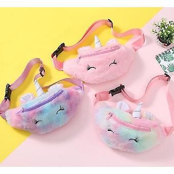 Unicorn Plush Belt Chest Bag