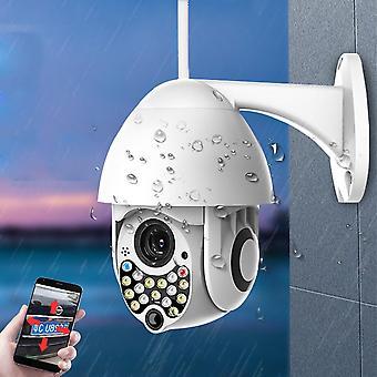 Bakeey 17 LEDライトボールマシンワイヤレスWiFi双方向音声サウンドライトアラームリモート屋外ウォーター