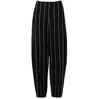 Oska Gryned Linen Blend Pinstripe Trousers