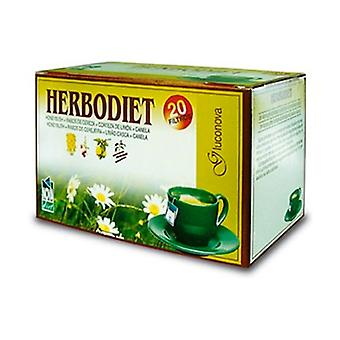 Herbodiet Infusions Gluconova 20 units