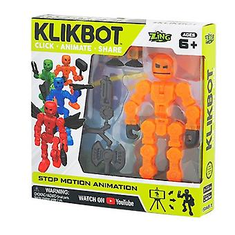 Brainstorm klikbot with heroes and villains