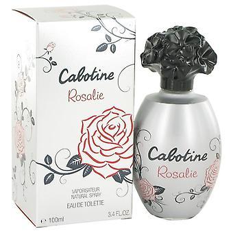 Cabotine Rosalie Eau De Toilette Spray por Parfums Gres 3.4 oz Eau De Toilette Spray
