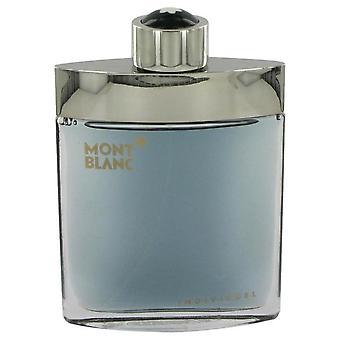 Individuelle Eau De Toilette Spray (Tester) By Mont Blanc 2.5 oz Eau De Toilette Spray