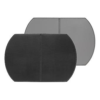 フリーのシングル折り畳み式マット、ブラック、グレー