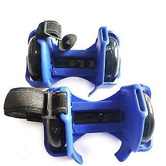 Blinkende Roller Skating Schuhe, kleine Wirbelwind Pulley Flash Wheel Sport