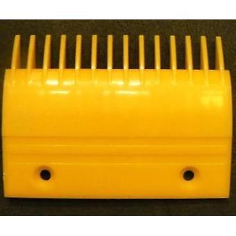 Liukuportaiden kampalevy keltainen väri Ys017b313