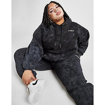 New Supply & Demand Women's Washed Plus Size Boyfriend Hoodie from JD Outlet Black