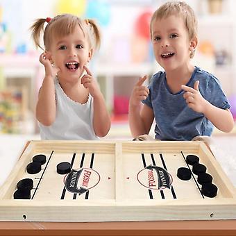 すべての年齢のための新しい近代的なテーブルホッケースリングパックボードゲーム