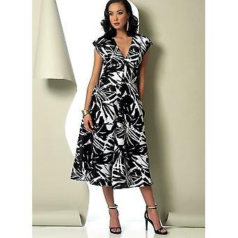 Vogue coser patrón 9103 misses señoras cintura vestidos vestido tamaño 14-22 Sin cortar
