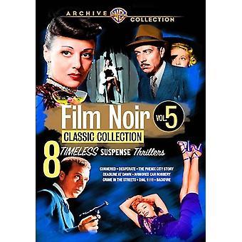 Film Noir classique Collection: Volume cinq USA [DVD] import