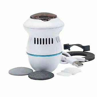 Electric Foot File Vacuum Callus Remover, Rechargeable Foot Files Clean Tools