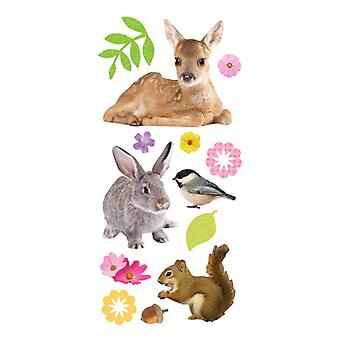 Paper House Productions - Puffy Stickers - Baby Animals