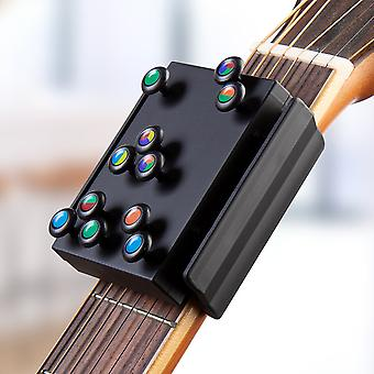 Guitar Learning System Teaching Practrice Aid with 21 chords Lesson Guitar Chord Trainer Practice Tools Accessories part