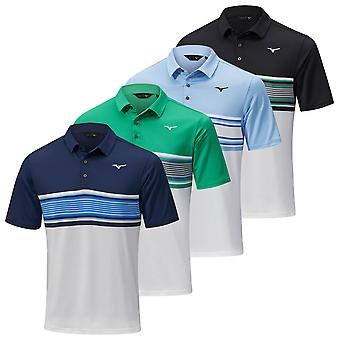 Mizuno Mens 2021 Quick Dry Oceanic Sublimated Print Move Tech Polo Shirt