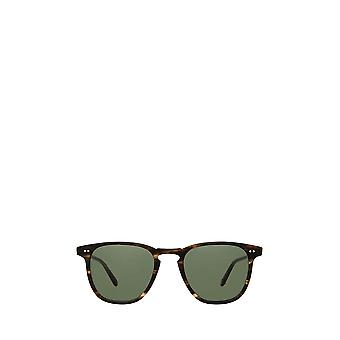 Garrett Leight BROOKS SUN matte storm tortoise unisex sunglasses