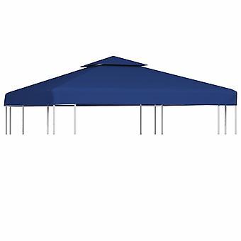 vidaXL Pavilion replacement roof 310 g/m2 Dark blue 3x3 m