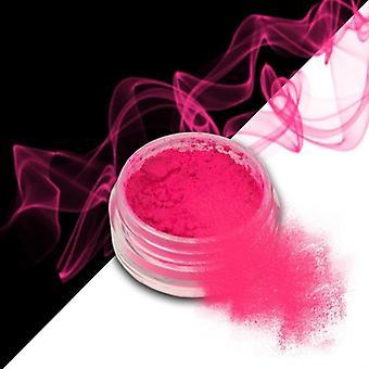 Effekt pulver - Smoke - Neon - Rosa - 09