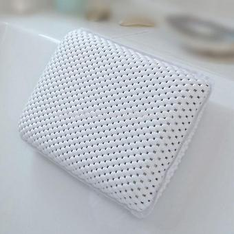 Soft Waterproof Bath Pillows With Suction Cups Easy To Clean Bathroom