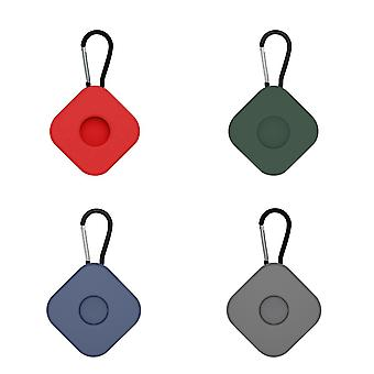 4Pcs silicone protective case compatible with airtags anti lost keychain ac15