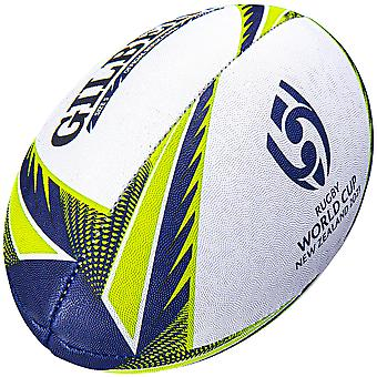 Gilbert Rugby World Cup 2021 New Zealand Rugby Union Replica Rugby Ball White-5