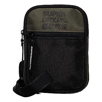 Superdry Sports Pouch Bag - Chive