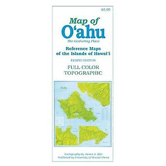 Map of Oahu The Gathering Place Reference Maps of the Islands of Hawai'i