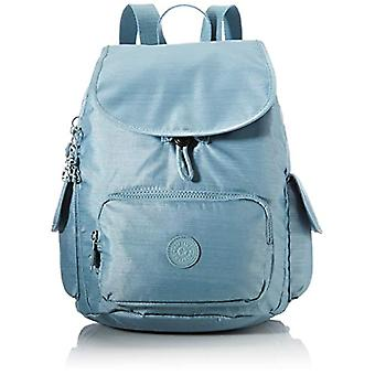 Kipling City Pack S, Women's Casual Backpack, Navy Polishing, One Size