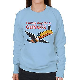 Guinness Toucan dejlig dag for en Guinness kvinders sweatshirt