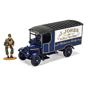 Thornycroft J. Jones Family Butcher Van (With Mr Jones Figure) from Dad's Army