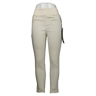 DG2 by Diane Gilman Women's Jeans Reg Ultra Skinny Jegging Ivory 733923