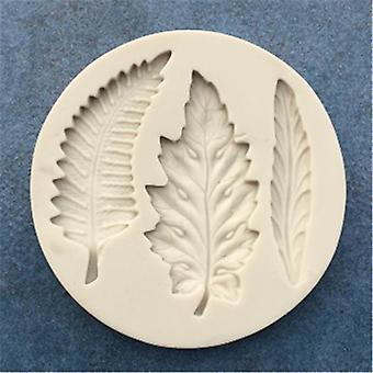 Feather Silicone Fondant Mold Cake Decorating Tool