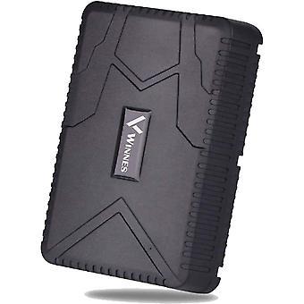 Winnes Vodotesný GPS Tracker Profesionálny GPS Tracker Real Time Tracking Anti Theft GPS Lokalizátor Auto Tracker Silný Magnet Dlhý Stadnby Sledovacie zariadenie TK915 (čierna)