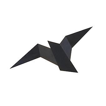 Gerui Nordic Bird Iron Decor Led Wall Light(Black)