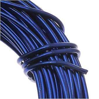 Alumiininen käsityölanka Royal Blue 12 Gauge 39 jalkaa (11,8 metriä)