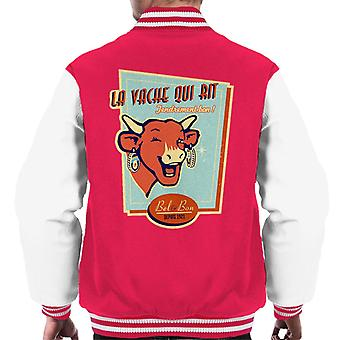 The Laughing Cow For Cheese Lovers Men's Varsity Jacket