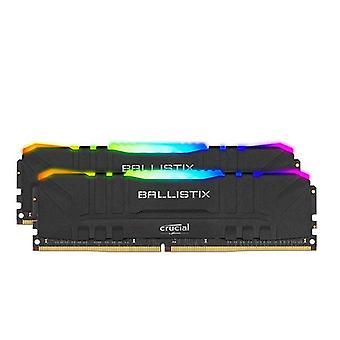 Crucial Ballistix Rgb 32Gb Ddr4 Udimm 3600Mhz Gaming Memory