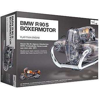 BME019 67009 0 BMW R 90 S Boxermotor originalgetreues Modell, Bausatz mit schaltbarem 5 Gang