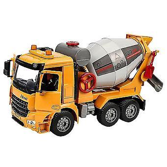 diecast trekke tilbake bil leker lyd lys simulering mikser lastebil modell